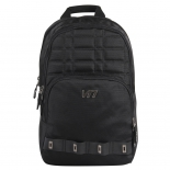 Unisex Diamond Printing Black Multifunctional Daypack